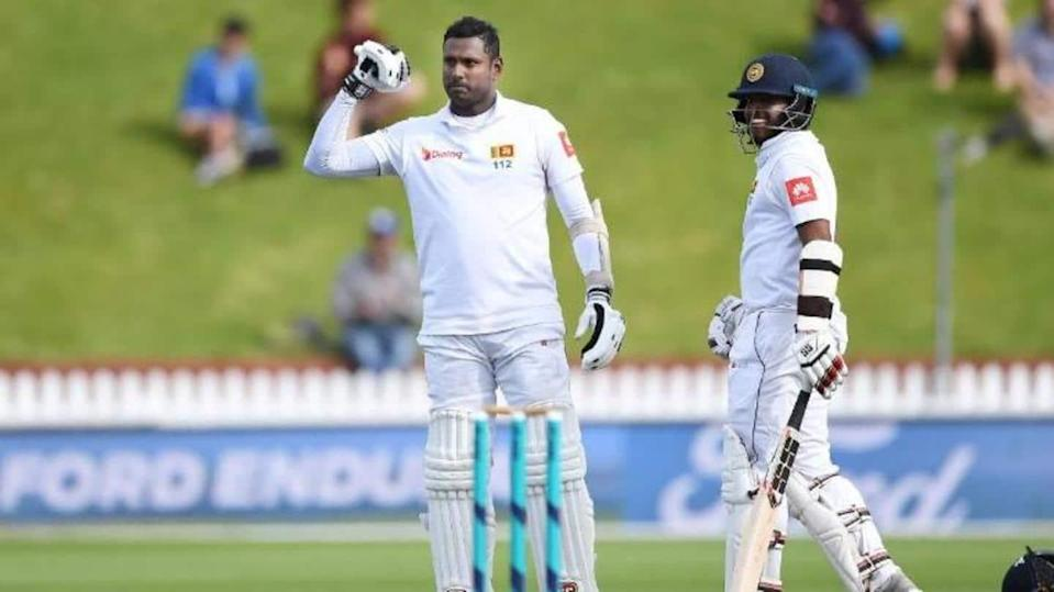Angelo Mathews ruled out of South Africa Test series
