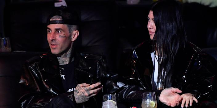 travis barker and kourtney kardashian