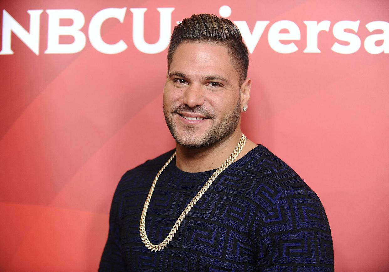 BEVERLY HILLS, CA - MARCH 20:  Ronnie Ortiz-Magro attends the 2017 NBCUniversal summer press day The Beverly Hilton Hotel on March 20, 2017 in Beverly Hills, California.  (Photo by Jason LaVeris/FilmMagic)