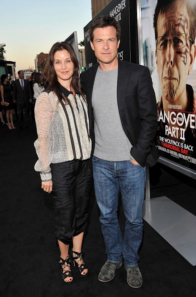 """<a href=""""http://movies.yahoo.com/movie/contributor/1800020936"""">Amanda Anka</a> and <a href=""""http://movies.yahoo.com/movie/contributor/1800019148"""">Jason Bateman</a> attend the Los Angeles premiere of <a href=""""http://movies.yahoo.com/movie/1810187722/info"""">The Hangover Part II</a> on May 19, 2011."""