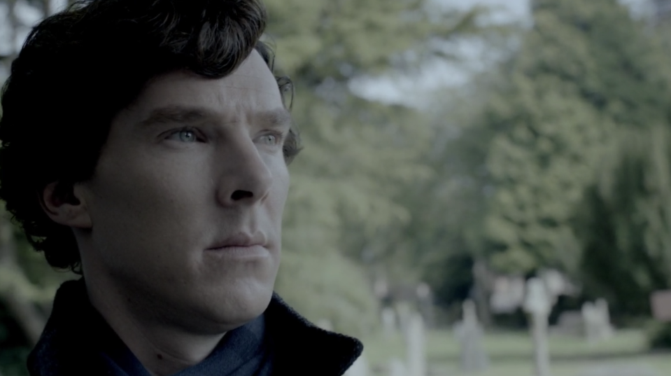 Sherlock managed to fake his own death. (BBC)
