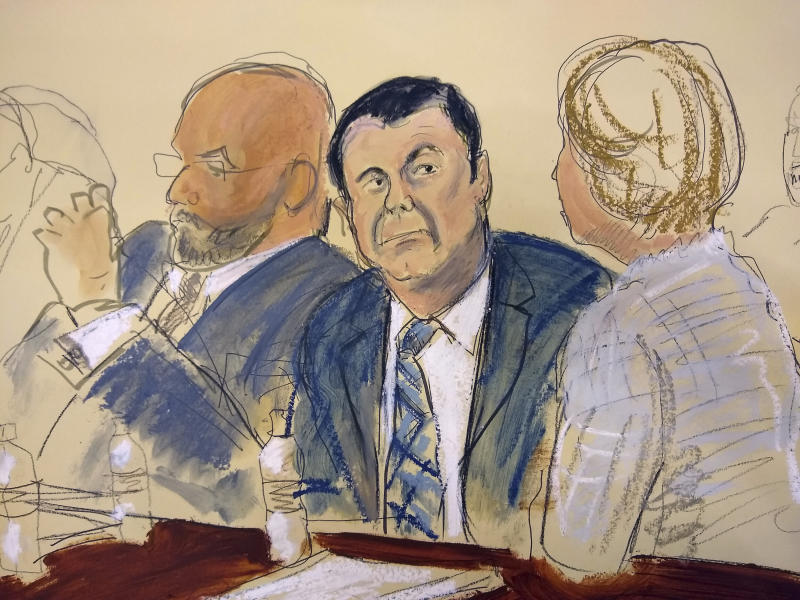 Seeks to strike El Chapo lawyer's opening statement
