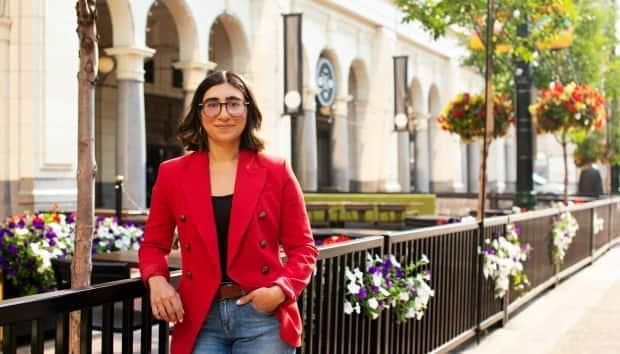 Liberal candidate Sabrina Grover says two of her campaign volunteers were physically attacked on the weekend. (sabrinagrover.liberal.ca - image credit)