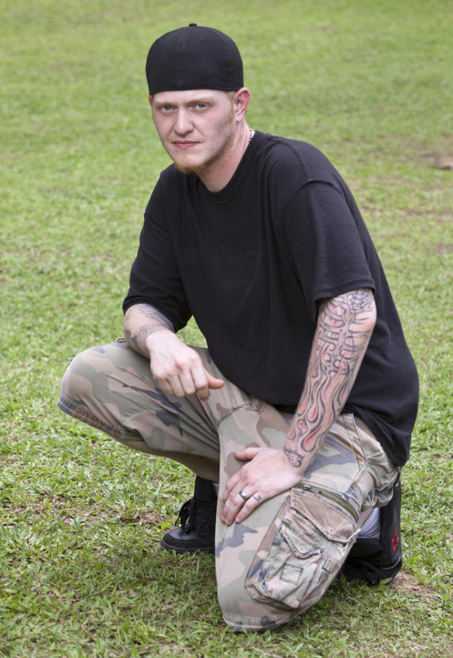 """<b>Zane Knight</b><br><br> <b>Reason for being on """"Survivor"""":</b> I've always wanted my own tow-truck, but working like I do now I won't ever be able to afford it.<br><br>  <b>Why you think you'll win """"Survivor"""":</b> I know I will be the final Survivor because I have the gift of gab. I'm very outgoing and can have a conversation with the President or a crack head. I was made for this game! <br><br>  <b>If you could have three things on the island, what would they be and why? </b><br> All I need are my old boots (I feel naked without them) and my Yankees hat."""