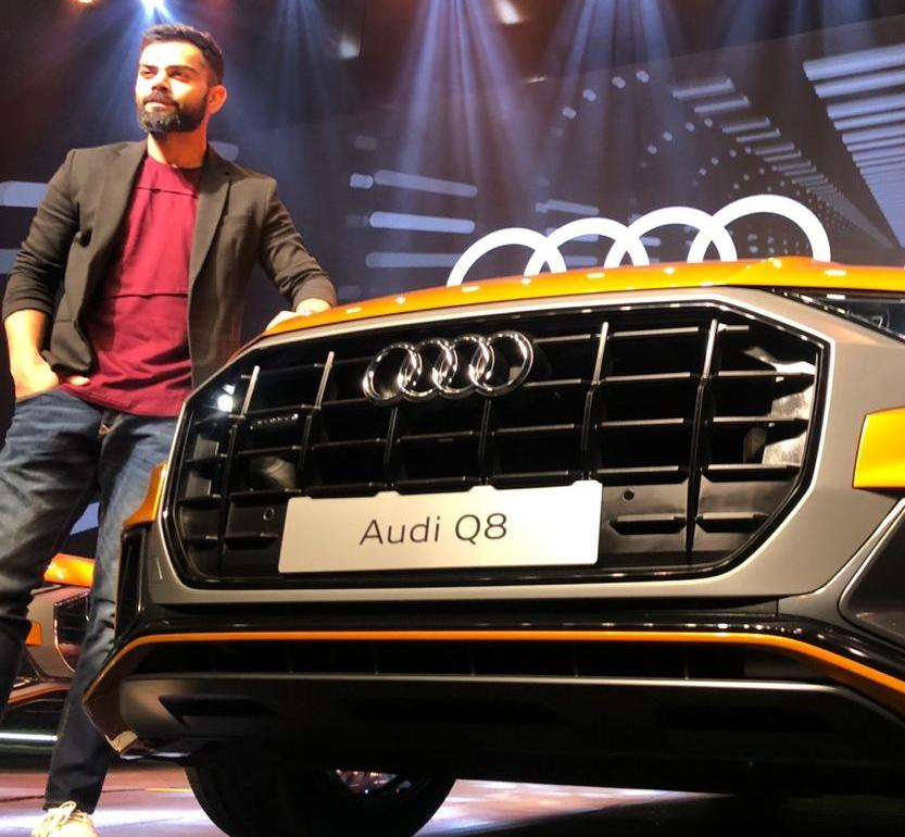 The Q8 is a unique combination of a four-door coupe and an SUV. It is the flagship product of the Audi range at the moment and is slotted above the Q7 with a price-tag of Rs 1.3 cr.