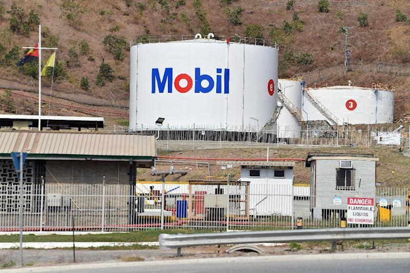 New prime minister James Marape has hinted he may look to renegotiate a massive LNG contract with Total and ExxonMobil (AFP Photo/SAEED KHAN)