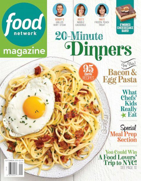 """PHOTO: You can find the special """"Family"""" mini-magazine inside Food Network magazine's September issue. (Ralph Smith / Food Network Magazine)"""