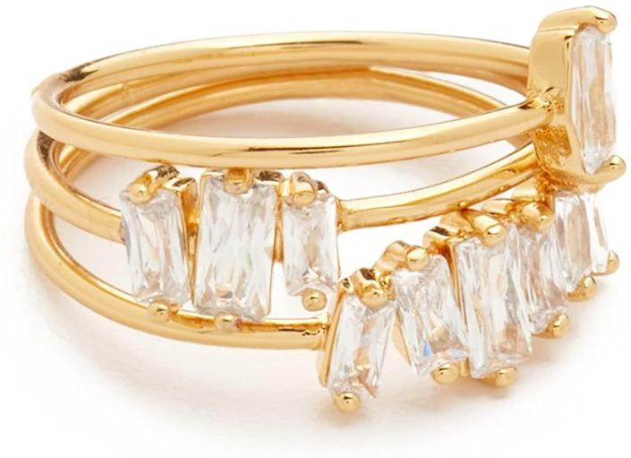<p>This <span>Gorjana Amara Ring Set</span> ($40) is fun to wear on its own or mix and match with other pieces.</p>