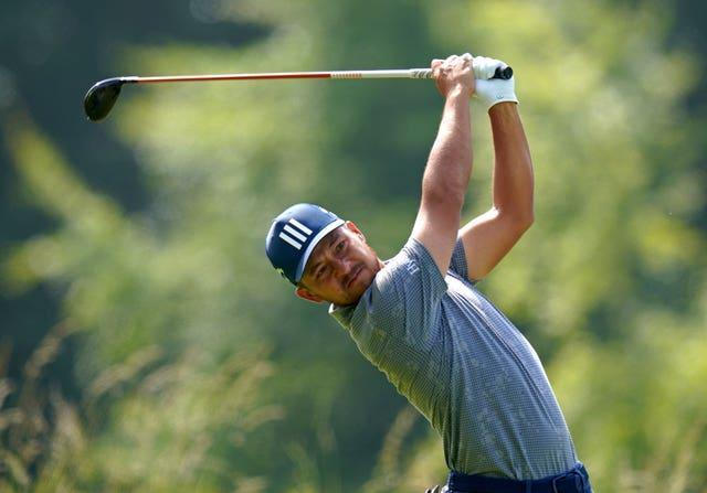 Xander Schauffele of the United States is atop the leaderboard at the halfway stage (Jane Barlow/PA)