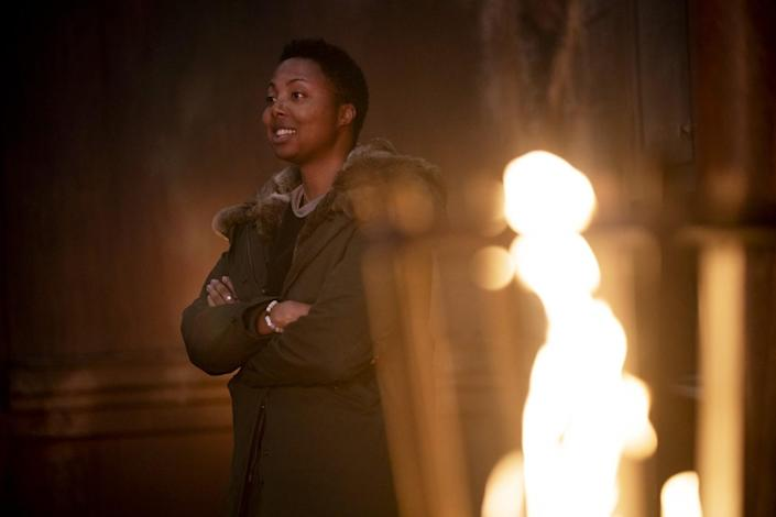 """Creator Misha Green on the set of """"Lovecraft Country."""""""