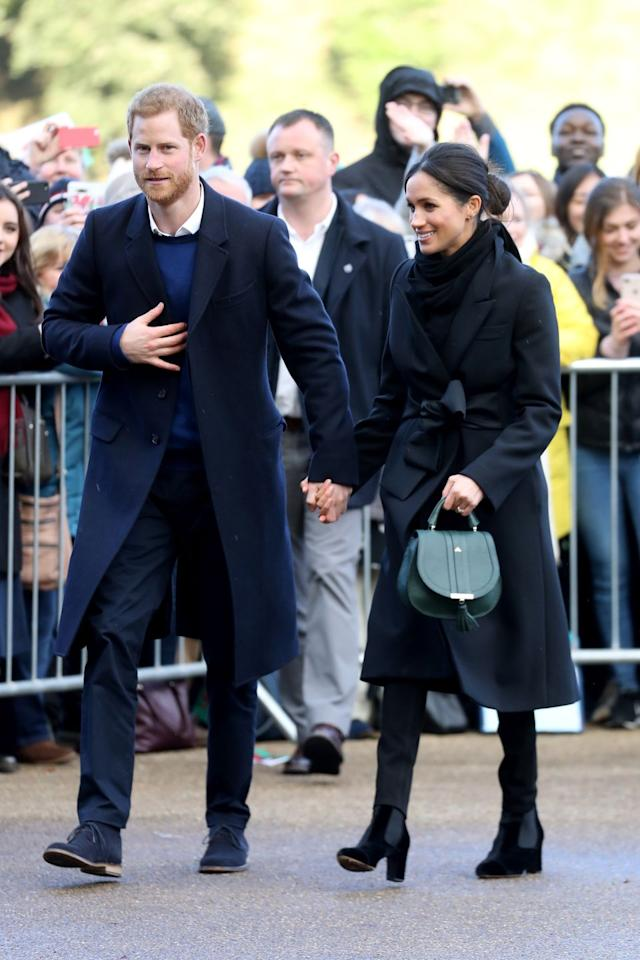 "<p><a href=""https://www.townandcountrymag.com/society/tradition/g15384292/prince-harry-meghan-markle-third-official-appearance-photos/"" target=""_blank"">See every photo from their royal outing in Wales here. </a></p>"