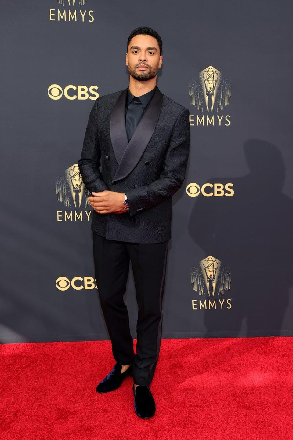 Rege-Jean Page at the 2021 Emmy Awards (Getty Images)