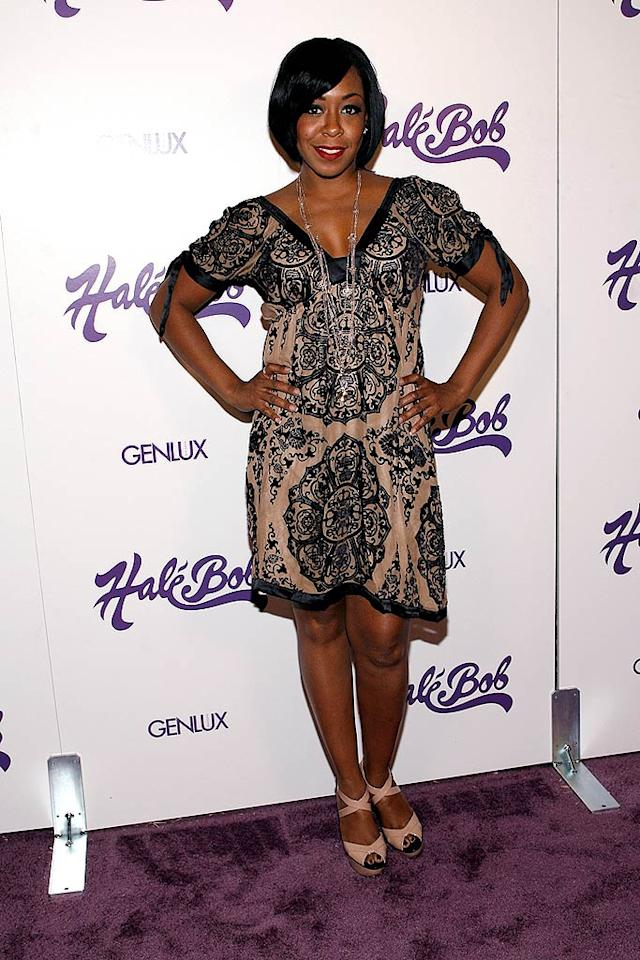 "Tichina Arnold should prepare to find herself in next week's ""What Were They Thinking?!"" gallery thanks to this atrocious ensemble. Michael Bezjian/<a href=""http://www.wireimage.com"" target=""new"">WireImage.com</a> - July 9, 2008"