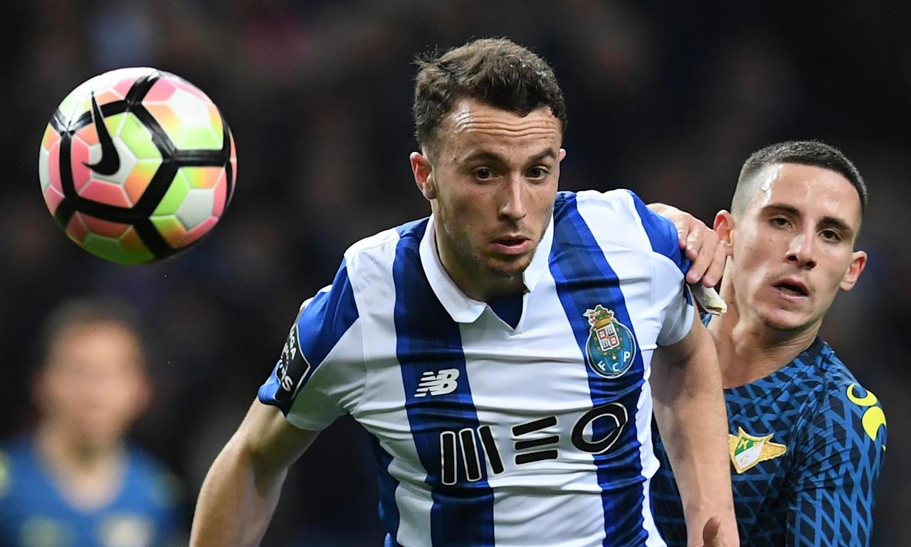 Diogo Jota spent last season on loan at Porto from from Atlético Madrid.