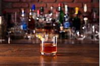 """<p>The Sazerac is the official cocktail of the city of New Orleans. In the city, you can get a great one at the bar inside the Roosevelt hotel, which has been serving it since 1949.</p><p>Get the recipe from <a href=""""https://www.delish.com/cooking/recipe-ideas/recipes/a13990/roosevelt-hotel-new-orleans-sazerac-cocktail-recipe/"""" rel=""""nofollow noopener"""" target=""""_blank"""" data-ylk=""""slk:Delish"""" class=""""link rapid-noclick-resp"""">Delish</a>.</p>"""