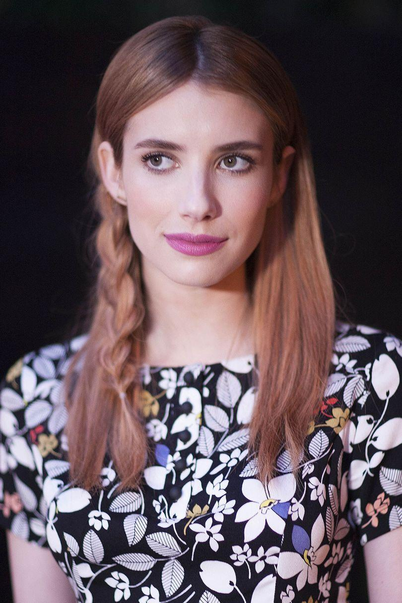 <p>Effortless, pretty, delicate, it's safe to say we're a bit obsessed with Emma Roberts loose side plait.</p>