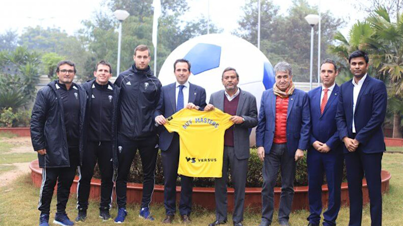 AIFF investing in capacity building with the new Football Masters Course