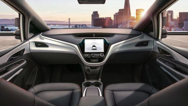 GM released images of the Cruise AV and video of the interior with a strikingly spacious windshield devoid of a steering wheel