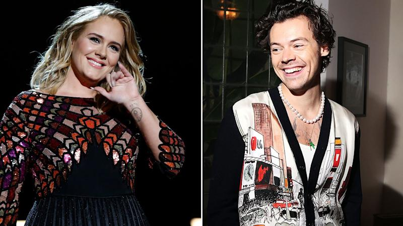 Fans Think Harry Styles and Adele Might Collab After They Were Spotted at the Beach