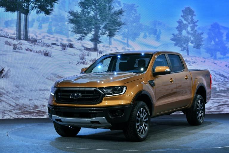 In a nod to the appeal of a rough-and-tumble look in the US, Ford tweaked its Ranger mid-sized pickup for North America compared with the version sold in other regions