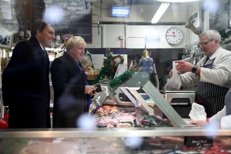 On The Campaign Trail: UK's PM Johnson blows his budget on sausages