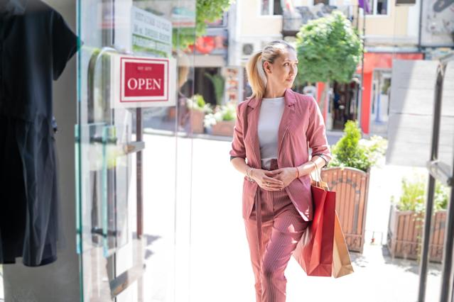 What will shopping look like when shops reopen in England on Monday June 15. (Getty Images)
