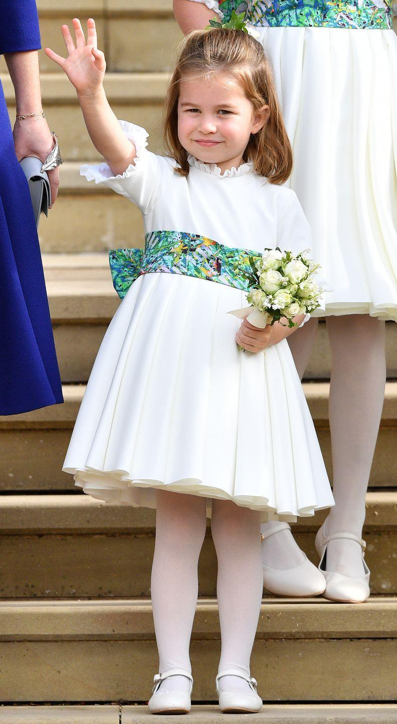 """<p><strong>Branch of the Family Tree: </strong>Daughter of Prince William; granddaughter of Prince Charles; great-granddaughter of Queen Elizabeth II</p><p><strong>More: </strong><a href=""""https://www.townandcountrymag.com/society/tradition/g9570478/princess-charlotte-photos-news/"""" rel=""""nofollow noopener"""" target=""""_blank"""" data-ylk=""""slk:The Cutest Photos of Princess Charlotte"""" class=""""link rapid-noclick-resp"""">The Cutest Photos of Princess Charlotte</a></p>"""
