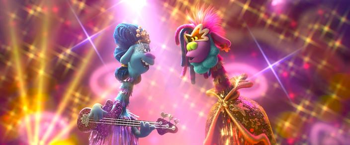 "A scene from DreamWorks Animation's ""Trolls World Tour,"" directed by Walt Dohrn."
