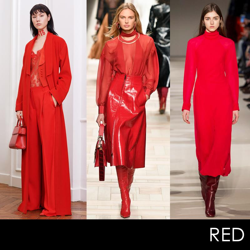 """<p><p>From head-to-toe looks to the <a rel=""""nofollow"""" href=""""http://thezoereport.com/fashion/accessories/best-red-leather-boots-milan-fashion-week-2017/"""">winning leather boot trend</a>, brilliant shades of red wereprominent in collections from New York to Paris. Say hello to fall's hero hue.</p>                                                                                                                                                                               <h4>Givenchy, Fendi, Victoria Beckham. Photos: Courtesy of Givenchy, Getty Images, ImaxTree.</h4>"""