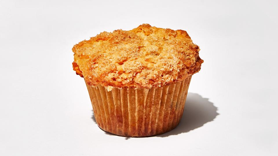 "Like the best possible Morning Glory muffins, but with grated butternut squash instead of carrot. Butternut squash season starts in early fall. Look for very firm and heavy squash with fresh-looking stems. The skin should be smooth and unblemished. Size doesn't make a difference in flavor, but squash with long necks are generally easier to peel and break down. <a href=""https://www.bonappetit.com/recipe/butternut-squash-coconut-and-ginger-muffins?mbid=synd_yahoo_rss"" rel=""nofollow noopener"" target=""_blank"" data-ylk=""slk:See recipe."" class=""link rapid-noclick-resp"">See recipe.</a>"