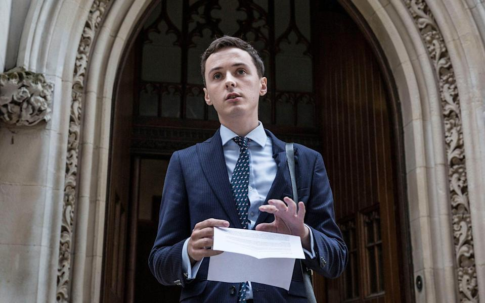 Darren Grimes said he is 'delighted' but has questioned how the investigation got so far - Jeff Gilbert