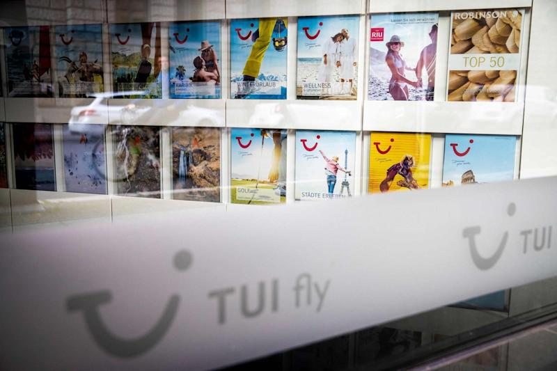 Tui branches across the world have been closed as a result of the pandemic and while some are set to reopen over the coming days, thousands of jobs will be cut, the travel operator has announced: AFP via Getty Images