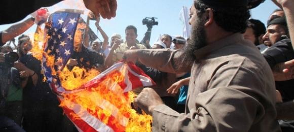 protest in Amman. Photo: Getty Images