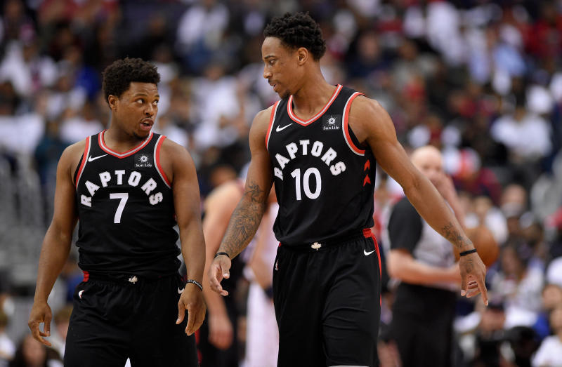 If Kyle Lowry, DeMar DeRozan and the Raptors hope to have any shot of coming back on LeBron James and the Cavs, they can't afford to go down 0-2. (AP)