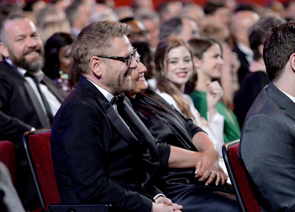 LONDON, ENGLAND - APRIL 09: Sir Kenneth Branagh during The Olivier Awards 2017 at Royal Albert Hall on April 9, 2017 in London, England. (Photo by Jeff Spicer/Getty Images)