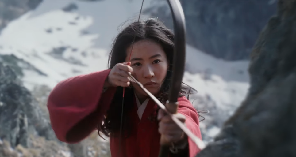 Liu Yifei as Mulan (Credit: Disney)