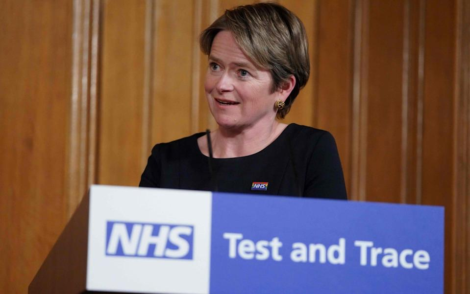 Baroness Dido Harding chairs NHS Test and Trace - Pippa Fowles/AFP via Getty Images