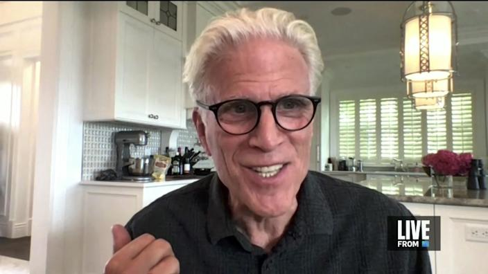 """Ted Danson is interviewed for E! Entertainment's """"E! Countdown to the Red Carpet"""""""