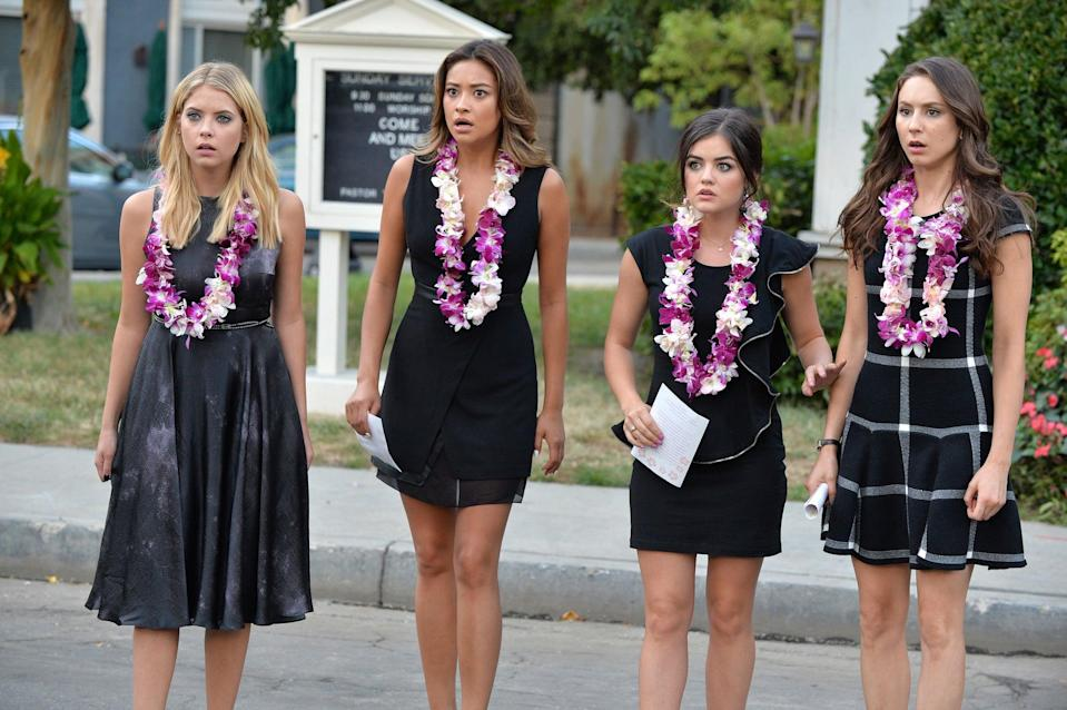 "<p>We couldn't talk about shows similar to <strong>The Wilds</strong> without mentioning <strong><a href=""http://www.popsugar.com/Pretty-Little-Liars"" class=""link rapid-noclick-resp"" rel=""nofollow noopener"" target=""_blank"" data-ylk=""slk:Pretty Little Liars"">Pretty Little Liars</a></strong>, a show that's similar in all the best ways. From teen issues to impressive surveillance technology in bunkers to a mystery with female leads, the two share similarities that drive the engaging nature of both. </p> <p><a href=""https://play.hbomax.com/page/urn:hbo:page:GXdMTbQrnTaXCPQEAAA9W:type:series"" class=""link rapid-noclick-resp"" rel=""nofollow noopener"" target=""_blank"" data-ylk=""slk:Watch Pretty Little Liars on HBO Max"">Watch <strong>Pretty Little Liars</strong> on HBO Max</a>.</p>"