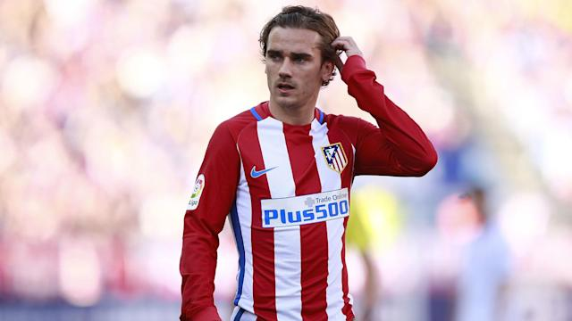 Antoine Griezmann appears set to stay at Atletico Madrid, according to the club's president.