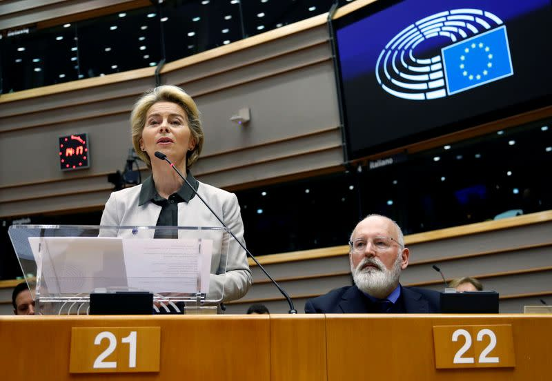 Plenary session at the European Parliament in Brussels