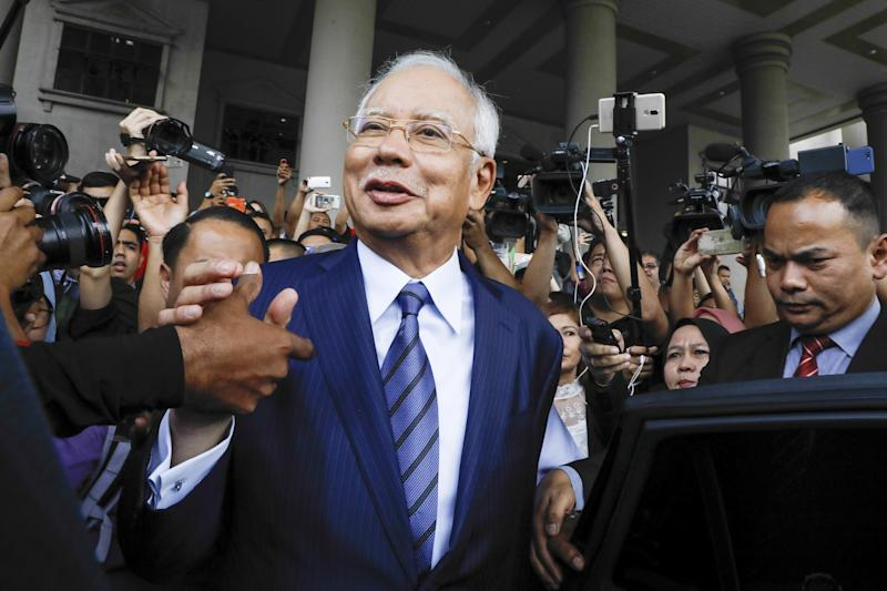 Najib Faces a Laundry List of Charges as 1MDB Trial Kicks Off