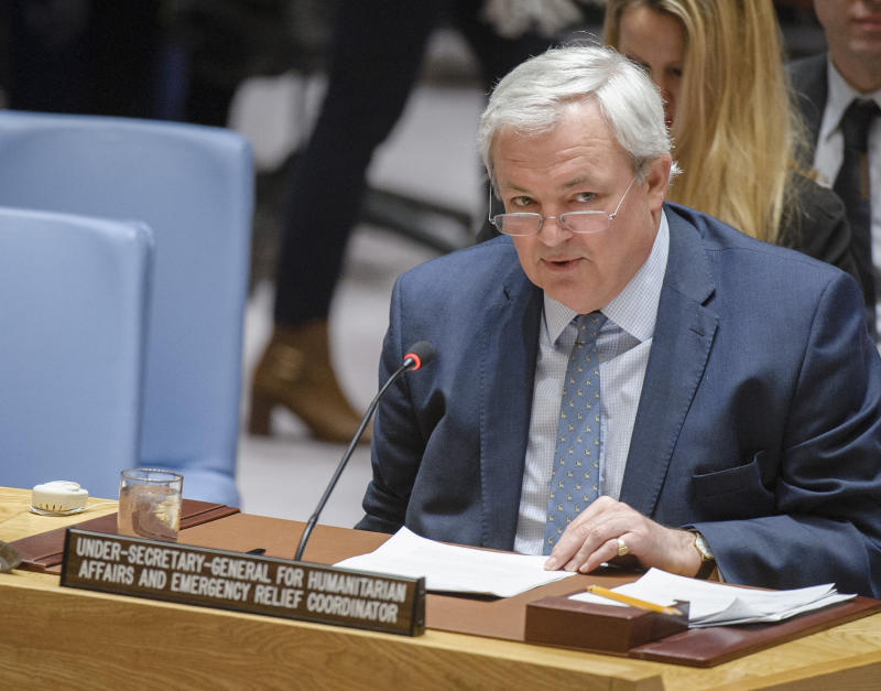 UN says world faces largest humanitarian crisis since 1945