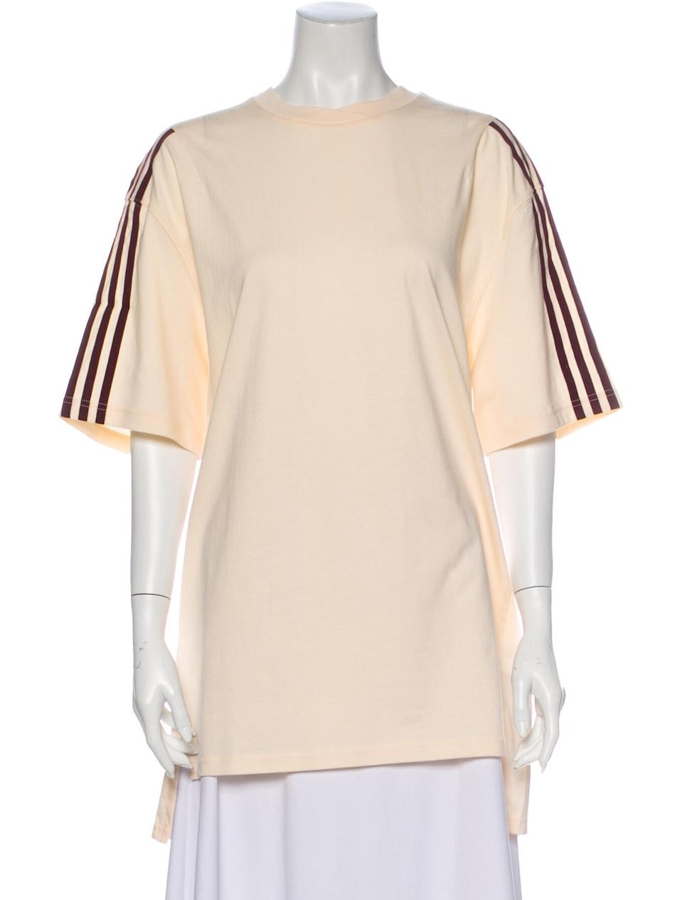 """<br><br><strong>adidas x Ivy Park</strong> Striped Bateau Neckline T-Shirt, $, available at <a href=""""https://go.skimresources.com/?id=30283X879131&url=https%3A%2F%2Fwww.therealreal.com%2Fproducts%2Fwomen%2Fclothing%2Ftops%2Fadidas-x-ivy-park-striped-bateau-neckline-t-shirt-w-tags-7wtxc"""" rel=""""nofollow noopener"""" target=""""_blank"""" data-ylk=""""slk:The RealReal"""" class=""""link rapid-noclick-resp"""">The RealReal</a>"""
