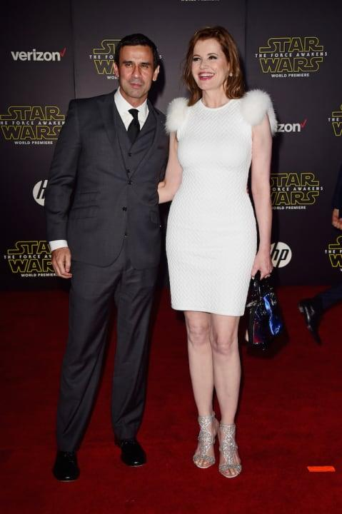 """E! News reportedin May that actor Geena Davis and her husband of 16 years, Dr. Reza Jarrahy, were splitting up. According to court documents obtained by E!, Jarrahy filed the paperwork for a divorce under the name Rob Doe and cited irreconcilabledifferences. He also requested Davis not be given spousal support. The docs also confirmed the pair had officially separated in December 2017.<br>See the full slideshow at <a rel=""""nofollow"""" href=""""http://www.sheknows.com/entertainment/slideshow/9335/celebrity-breakups-2018/1"""">SheKnows</a>"""