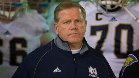 Notre Dame trying to stay united during investigation into academic scandal