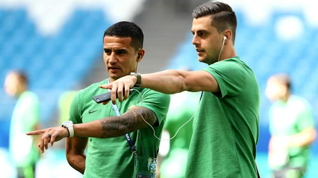 Australia must beat Peru to have a chance of reaching the last 16, but Tomi Juric is determined to keep believing.