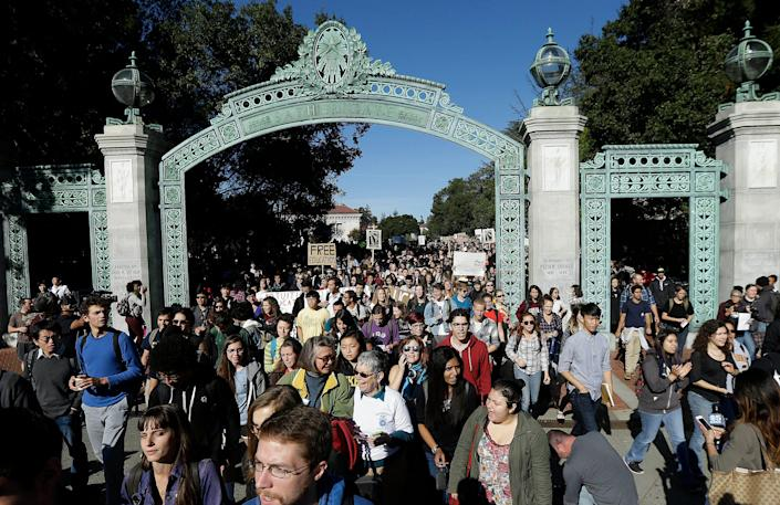 University of California Tuition Increase (Copyright 2021 The Associated Press. All rights reserved.)