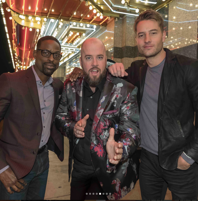 "<p>""The Big Three you never knew you needed,"" the <em>This is Us</em> star cheekily captioned this shot with co-stars Chris Sullivan and Justin Hartley. (Photo: <a href=""https://www.instagram.com/p/Bfrk05bnFuP/?taken-by=sterlingkbrown"" rel=""nofollow noopener"" target=""_blank"" data-ylk=""slk:Sterling K. Brown via Instagram"" class=""link rapid-noclick-resp"">Sterling K. Brown via Instagram</a>) </p>"