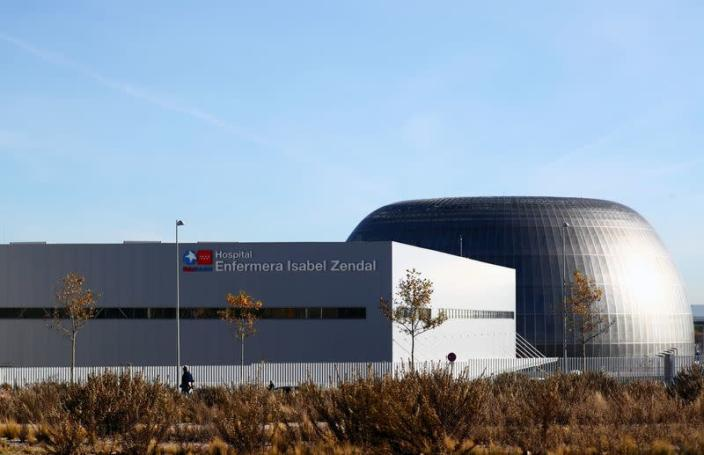 General view of Enfermera Isabel Zendal new hospital during its inauguration, amid the coronavirus disease (COVID-19) outbreak, in Madrid